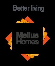 MeliusHomes: Better living logo